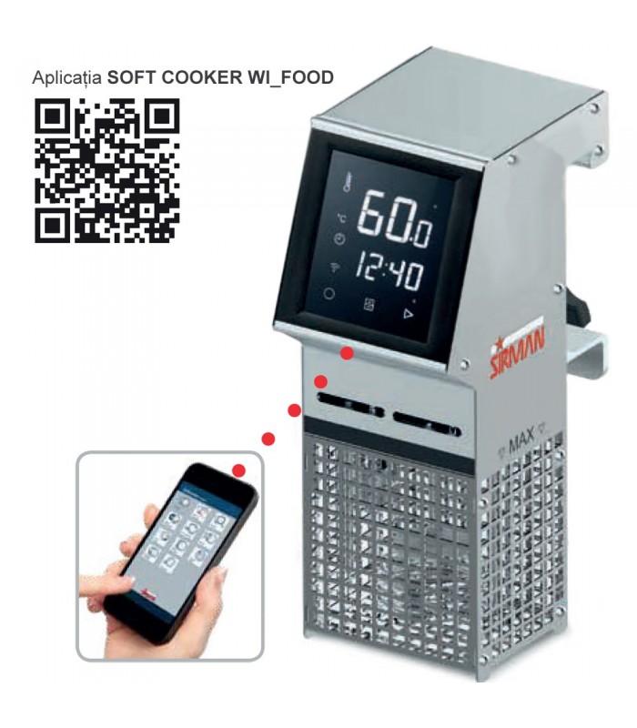 Aparat sous vide Sirman Softcooker Wi-Food X