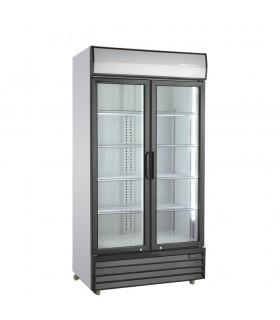 Vitrină frigorifică verticală cu uși batante 769/719 litri SD801H