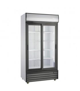 Vitrină frigorifică verticală cu uși glisante 709/658 litri SD801SL