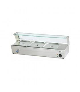 Vitrină bain marie 3 x GN 1/2 BAG01622
