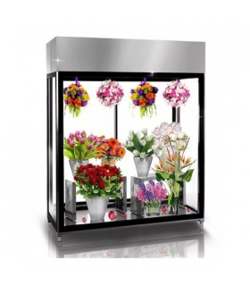 Vitrină frigorifică verticală pentru flori