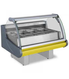 Vitrina calda bain marie fast food / autoservire lungime 197 cm Grenada B 1.9SP