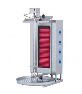 Aparat kebab electric 4 rezistențe motor superior ADE-4U