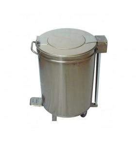 Coș de gunoi din inox 48 litri