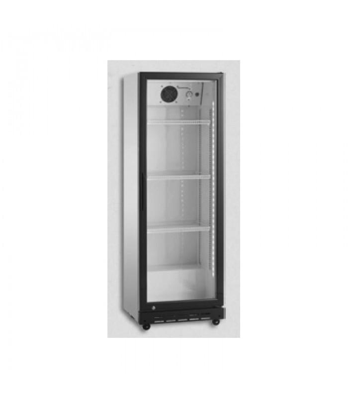 Vitrină frigorifică verticală SD180, albă, 0.65kW, 202/210litri, 585x505x1575mm