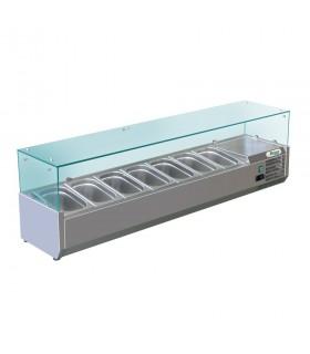 Vitrină frigorifică ingrediente pizza RI15033V