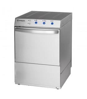 Mașină profesională de spălat vase Stalgast 801506, fără pompă evacuare, 3 coșuri incluse (farfurii, tacâmuri, pahare)