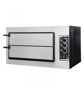 Cuptor electric pizza Basic 2/50 3T cu 2 camere de coacere, 2 pizza 45cm