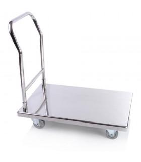 Cărucior platformă inox CR406