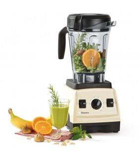 Blender Vitamix Professional Series PRO 300, 1200 W, 1.9 l, 2 cai putere, 10 viteze, Crem