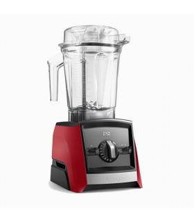 Blender Vitamix A2500i Ascent, 1400 W, 2l, Self-Detect Technology, 3 programe prestabilite, wireless, timer digital, Roșu