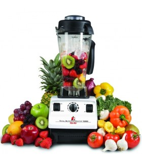 Blender Vitamix TNC 5200, Total Nutrition Center, 1200 W, 1.9 litri, 37.000 rpm, 10 viteze, Alb