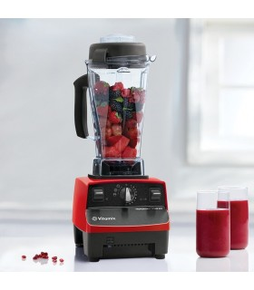 Blender Vitamix TNC 5200, Total Nutrition Center, 1200 W, 1.9 litri, 37.000 rpm, 10 viteze, Rosu