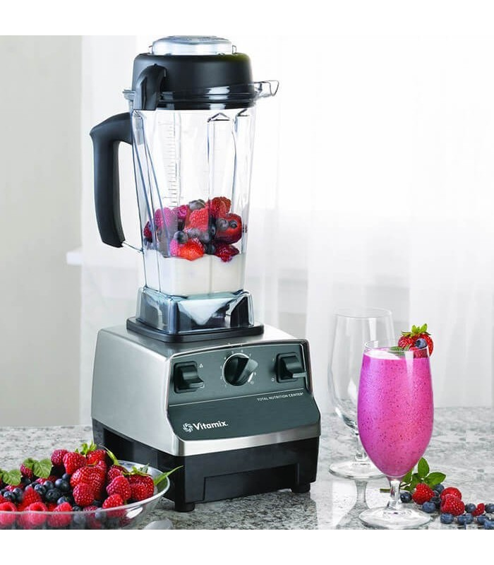 Blender Vitamix TNC 5200, Total Nutrition Center, 1200 W, 1.9 litri, 37.000 rpm, 10 viteze, Inox