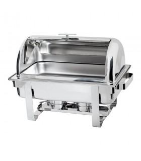 Chafing dish cu capac rabatabil 9 litri GN 1/1