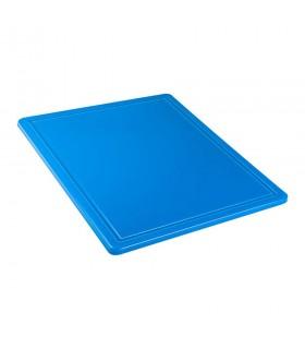 Tocător albastru polietilenă, 265x325x12 mm - GN1/2