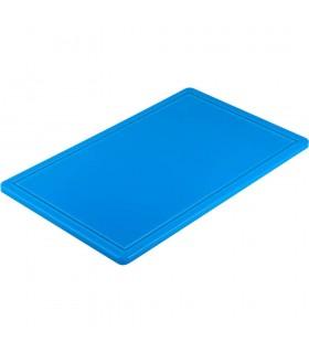 Blat polietilenă albastru (pește ) GN1/1 (530x325mm)