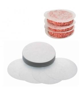 Discuri hartie 130 mm pentru hamburgeri (set 500buc)