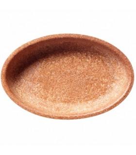 Bol Oval 24x16 cm din Tărățe de Grâu, Biodegradabil, Compostabil