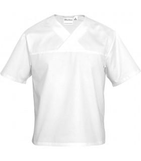 Cămașă albă pentru chef, unisex, mărimea L