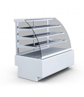 Vitrină frigorifică orizontală cofetărie Jamajka 0.9W TREND, L 1000mm