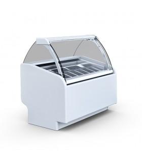Vitrină înghețată Aruba 2 TREND, 7 gusturi, L 1070 mm
