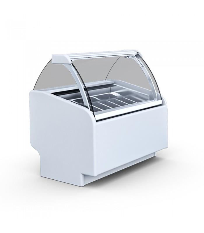 Vitrină înghețată Aruba 2, 7 gusturi, L 1070 mm