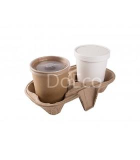 Eco Tabox Cutie Reciclabila Fast Food 200x200x40 mm (pachet 100 bucati)