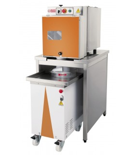Formator aluat pizza PF-PO-AR800, 660x880x1630 mm