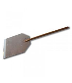 Lopata pizza - lemn cu bordura de aluminiu PPA