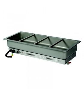 Vitrină caldă încorporabilă (drop-in) autoservire HSG4 1360mm