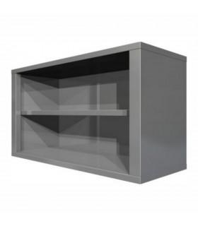 Dulap suspendat de perete inox - lățime 400 mm