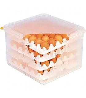 Cutie transport ouă, cu capac, 354x325x200 mm, Stalgast Polonia