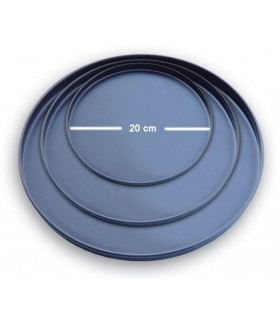 Tava pizza rotunda aluminiu 20cm EGS APT20